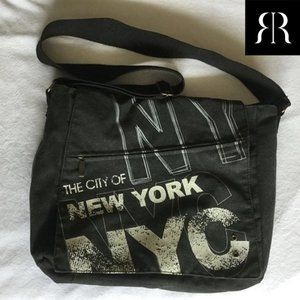 Robin Ruth New York City Messenger Shoulder Bag